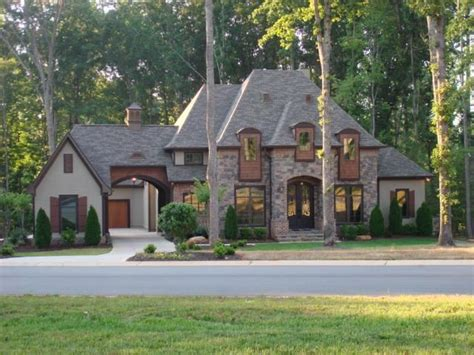 french style homes easy living in denver s norman pointe on lake norman