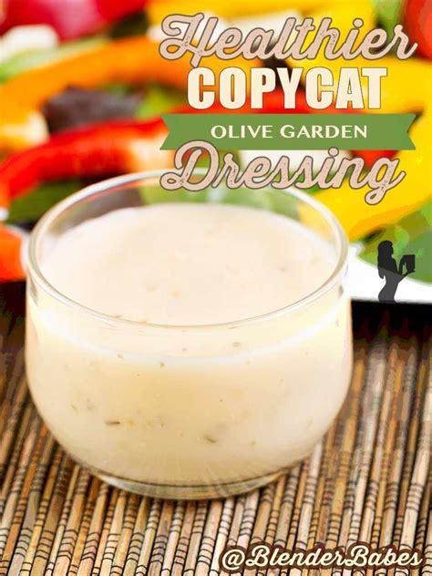 Healthy Olive Garden by Healthier Copycat Olive Garden Salad Dressing Blender