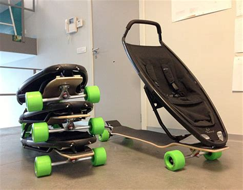 how to get comfortable on a skateboard longboard stroller