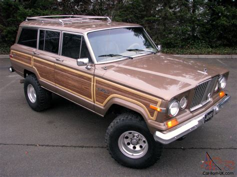 1988 jeep wagoneer 1988 jeep grand wagoneer unique one of a kind vintage