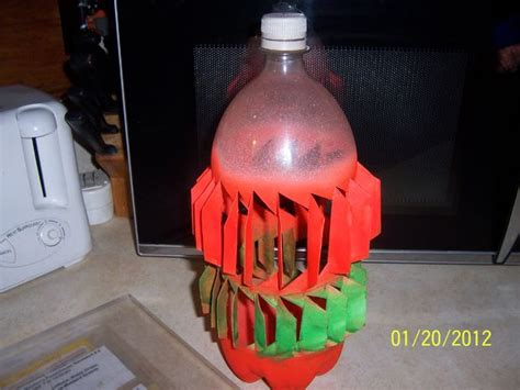 How To Make A L From A Bottle by Plastic Soda Bottle Wind Turbine