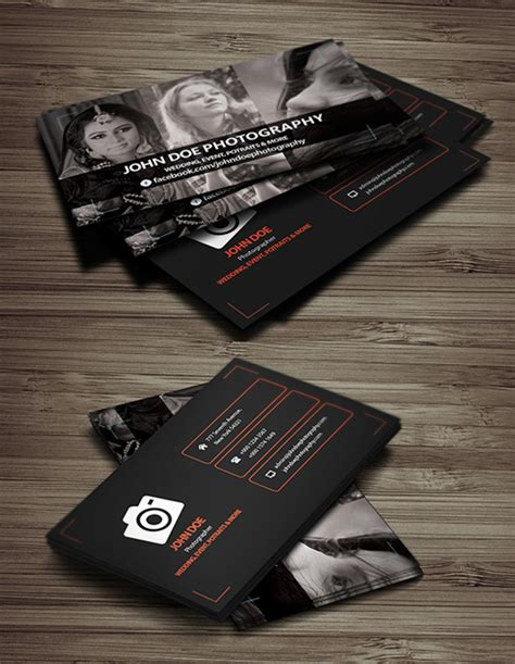 photographer business cards templates free photoshop free psd files for designers freebies