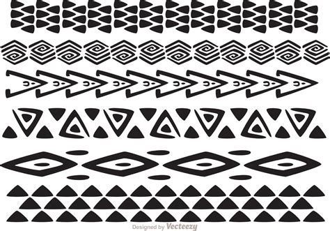 tribal pattern vector free download hawaiian tribal pattern vectors pack 1 download free