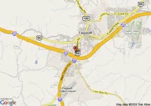 arizona map flagstaff map of hton inn and suites flagstaff flagstaff