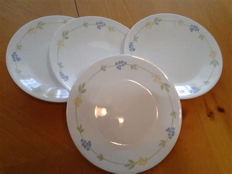 To Market Recap Outdoor Plates by Corelle Secret Garden 4 Plates 6 75 Of Blue Yellow