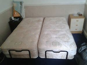 craftmatic electric adjustable bed with could be 2 x single beds ebay