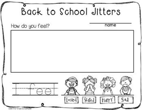 kindergarten activities back to school back to school writing for kinders filled with