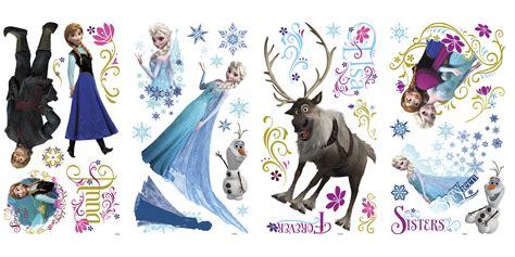 Wallpaper Frozen Sticker | frozen wall stickers with glitter wall murals ireland