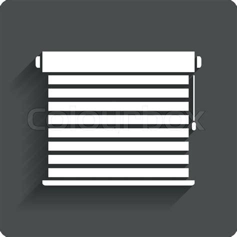 jalousie icon louvers sign icon window blinds or jalousie symbol gray
