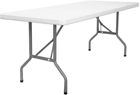 8 Ft Plastic Table by Bowl 187 Tables