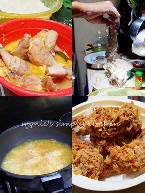 ayam goreng tepung krispi  gambar ayam goreng