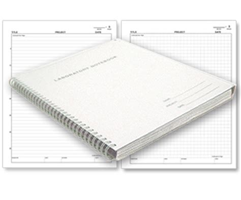 laboratory notebook engineering notebook and inventors journal 8 5x11 500 pages dot grid graph paper books duplicator carbonless lab notebooks