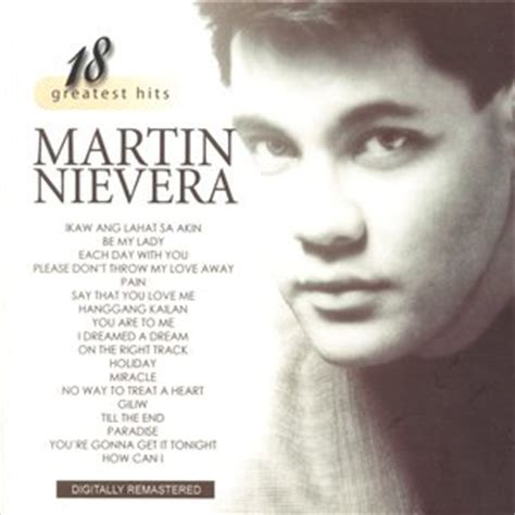 lyrics by martin nievera martin nievera ikaw ang lahat sa akin listen