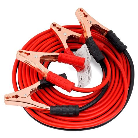 Cable Jumper 1 20 ft 4 heavy duty power booster cable emergency car battery jumper ebay
