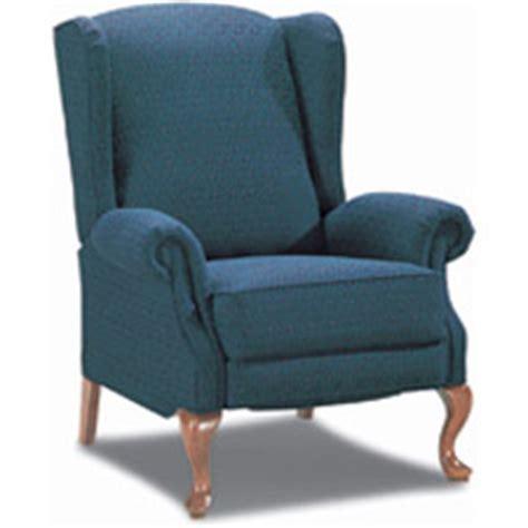 lazy boy queen anne recliner jennings high leg recliner