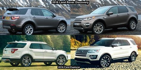land rover explorer ford explorer vs range rover 2017 2018 2019 ford price