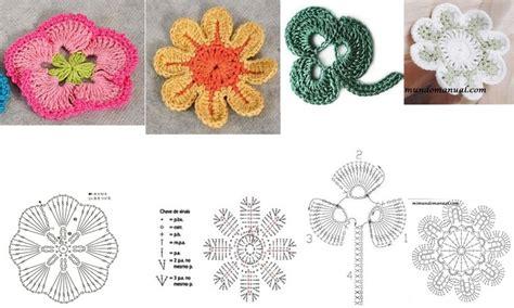 floral pattern en francais 17 best images about crochet mon capitaine on pinterest