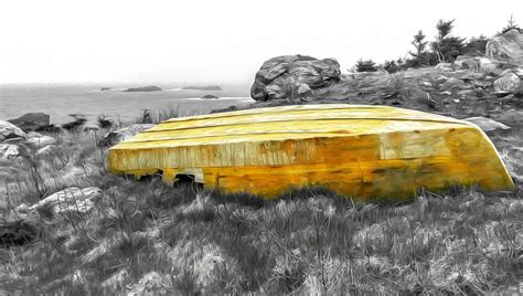 withered boat oil paint effect by ryan tarrow - Boat Paint Effect