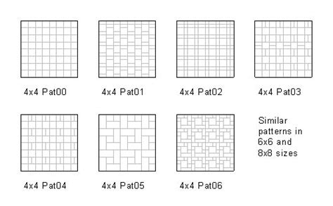 tile pattern in revit revit tile fill patterns fill patterns pinterest