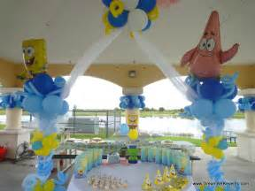 dreamark events spongebob theme birthday decor