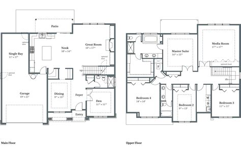 Arbor Homes Floor Plans sierra floor plans beaverton or arbor homes