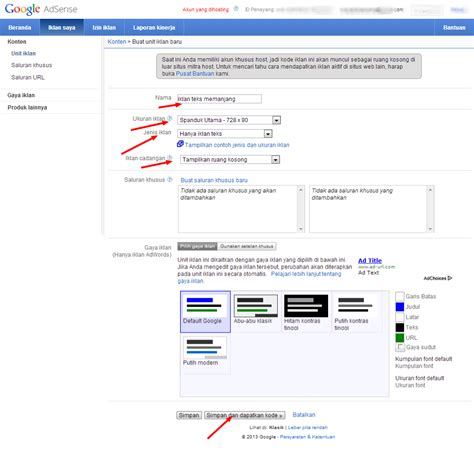 adsense pada blog cara memasang iklan google adsense di blog download gratis