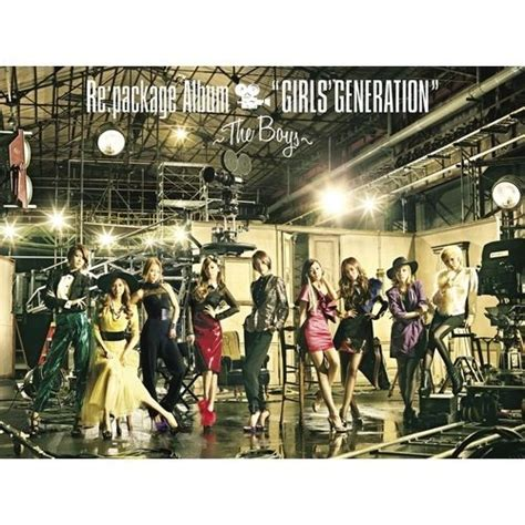 Dvd Snsd The Boys Re Package Album Girls Generation The Boys Cd Dvd