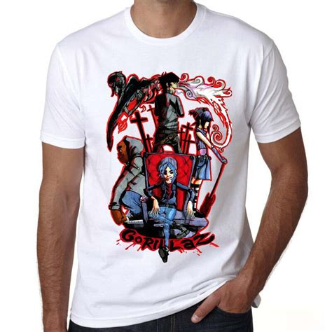 T Shirt Gorillaz 3 popular gorillaz t shirts buy cheap gorillaz t shirts lots