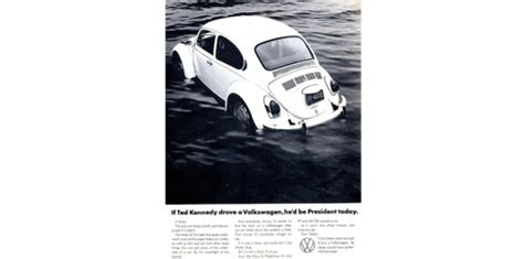 Chappaquiddick Volkswagen Commercial Parodies An Encore Presentation Home The Influence With Terry O Reilly