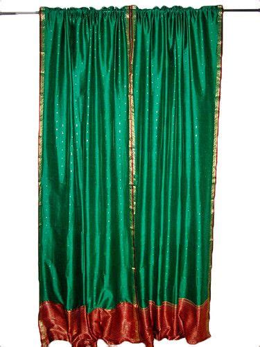 17 best images about indian sari curtain on curtains drapes hindus and green