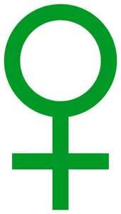 file venus symbol green svg