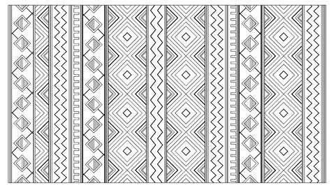 Free Coloring Page Coloring Adult Inca Aztec Mayan Pattern Aztec Coloring Pages