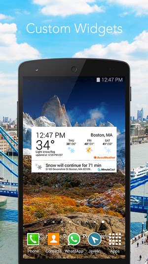 accuweather app for android free accuweather android