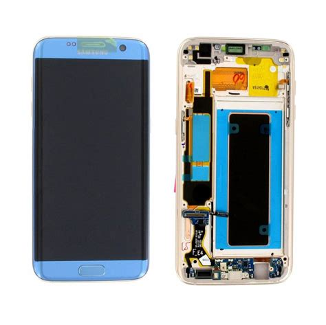Lcd Samsung S7 Edge samsung g935f galaxy s7 edge lcd display module coral blue gh97 18533g parts4gsm