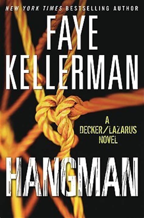 novel decke hangman decker rina lazarus 19 by kellerman