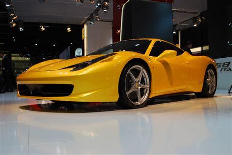 ferrari yellow 458 sports cars ferrari 458 italia yellow wallpapers 2012