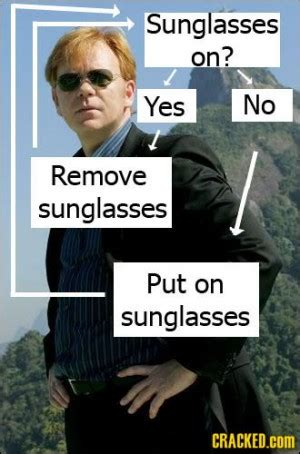 Horatio Caine Memes - csi miami horatio quotes oneliners quotesgram