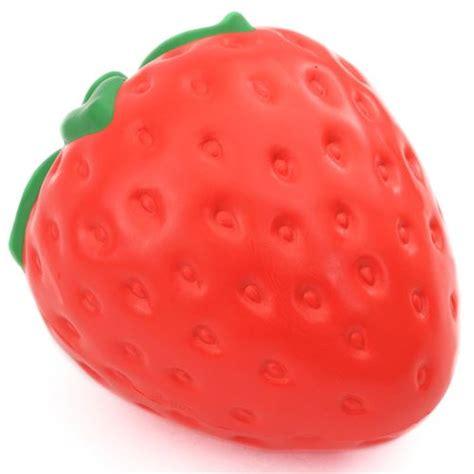 Squishy I Bloom Strawberry Replica big strawberry fruit scented squishy by ibloom food squishies squishies shop modes4u