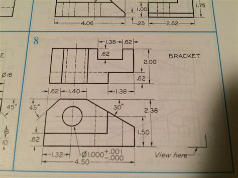 9 Drawings For Projection by Solved Draw Isometric Pictorials Of 1 Orthographic Proj