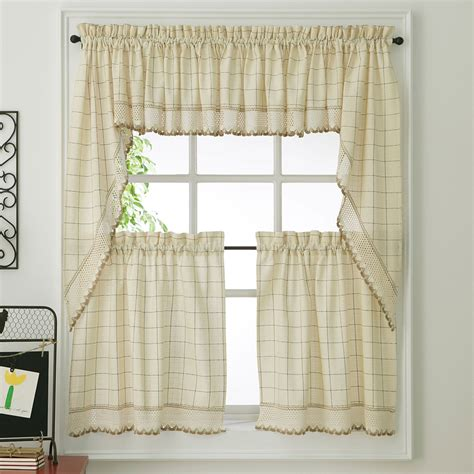 kitchen curtains crochet kitchen curtains