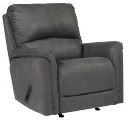 grey rocking recliner ranika gray rocker recliner from ashley 9021225