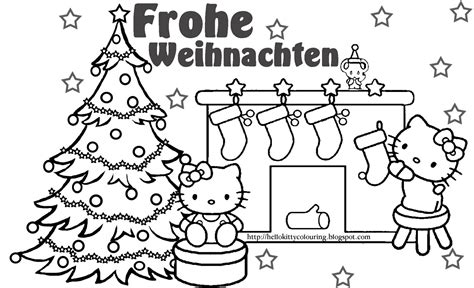 coloring pages for christmas in germany hello kitty coloring pages