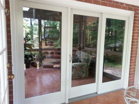Gliding Patio Door Andersen 400 Series Frenchwood Gliding Patio Door Yelp