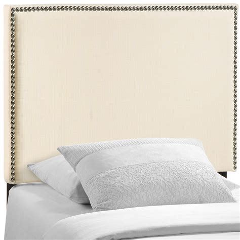 upholstered headboards twin marshall twin upholstered headboard ivory