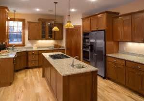 oak kitchen refinishing cabinets home make