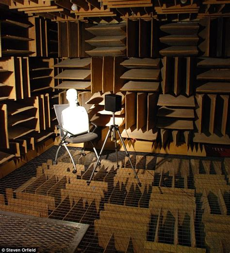 the quietest room the world s quietest place is a chamber at orfield laboratories daily mail