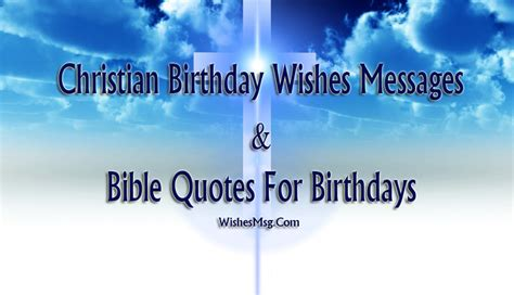 Birthday Wishes With Bible Quotes Christian Birthday Wishes Birthday Bible Quotes Wishesmsg