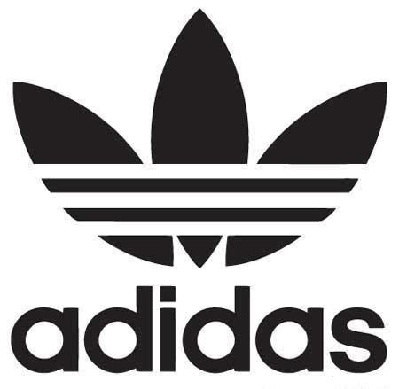 adidas logo die cut vinyl sticker decal sticky addiction