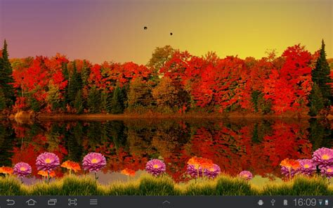 Fall Live Wallpaper Android fall live wallpapers android gallery