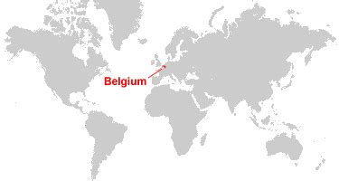 belgium in world map belgium map and satellite image